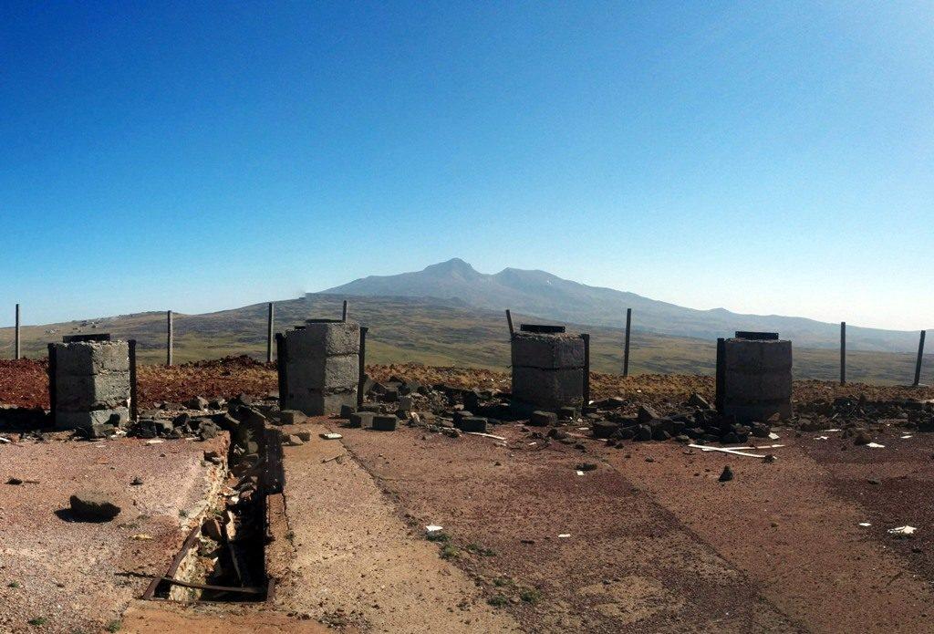 The top of Kaqavasar